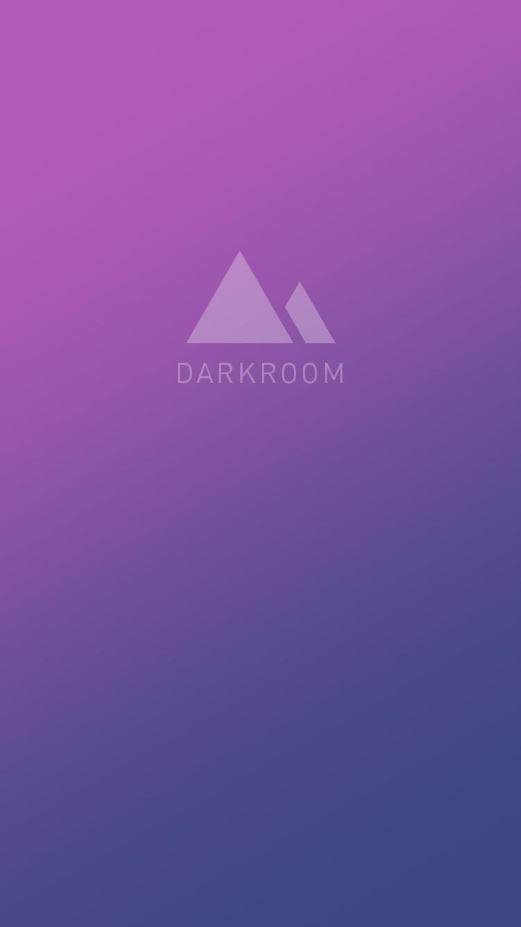 Splash Screens The Right Way: Darkroom Screenshots :: Mobile Patterns