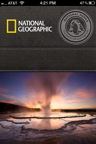 National Geographic iPhone splash screens screenshot