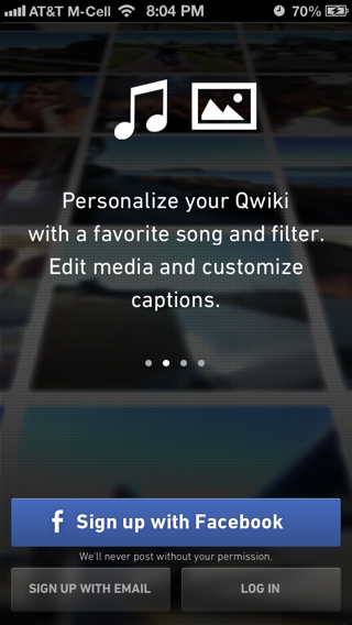 Qwiki iPhone walkthroughs screenshot