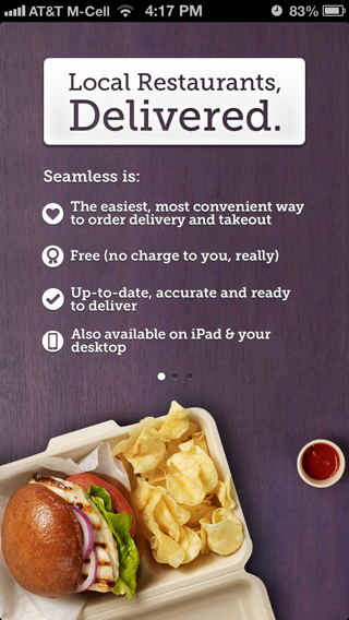 Seamless iPhone walkthroughs screenshot
