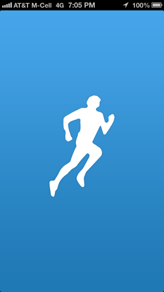 Runkeeper iPhone splash screens screenshot