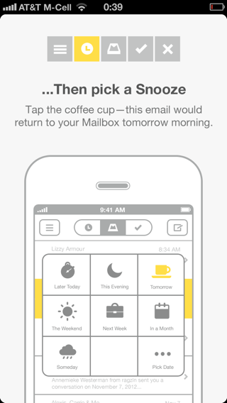Mailbox iPhone walkthroughs screenshot