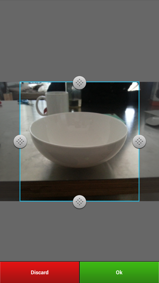 Instagram Android camera controller screenshot