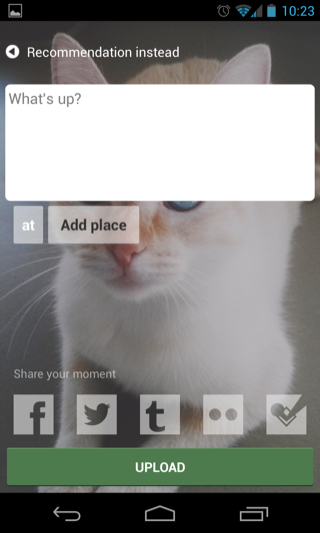 EyeEm Android compose screens screenshot