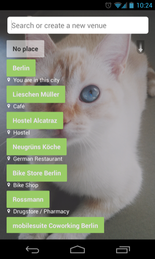 EyeEm Android search screenshot