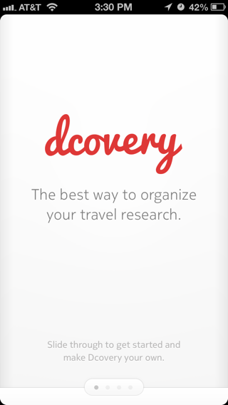 dcovery iPhone walkthroughs screenshot