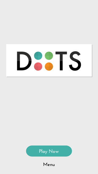 Dots iPhone home screenshot