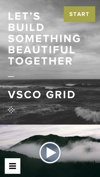 VSCO iPhone  screenshot