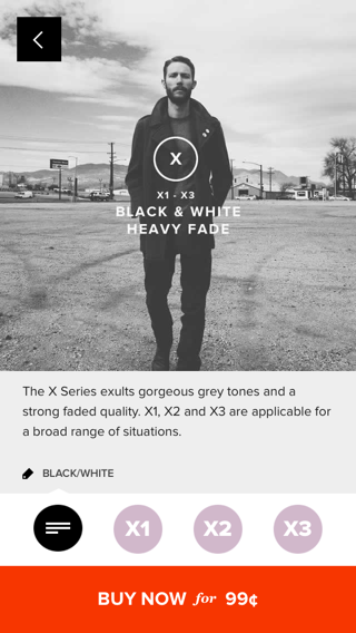 VSCO iPhone store screenshot