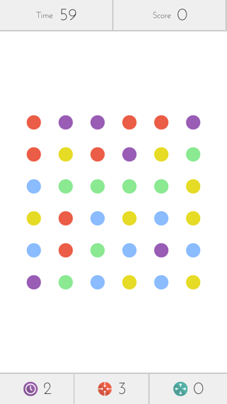 Dots iPhone games screenshot