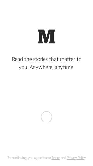 Medium iPhone loading views screenshot