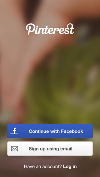 Log in screenshots mobile patterns - Pinterest mobel ...