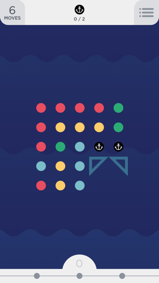 Two Dots iPhone games screenshot