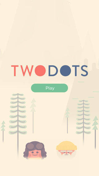 Two Dots iPhone home, games screenshot