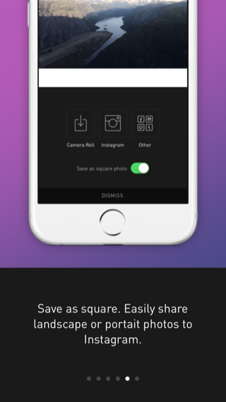 Darkroom iPhone onboarding, sign up flows screenshot