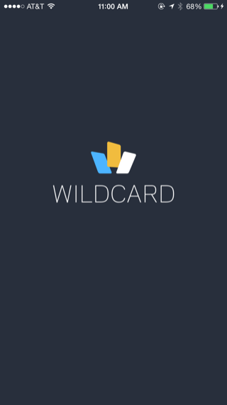 Wildcard iPhone splash screens screenshot