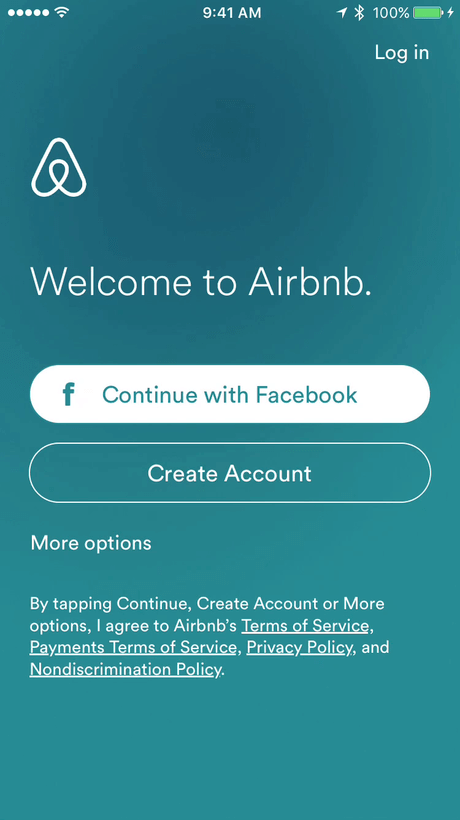 Airbnb Iphone App Screens Ui Ux Design Patterns Mobile Patterns
